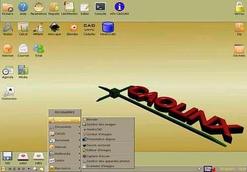 CAOLINX pour Linux