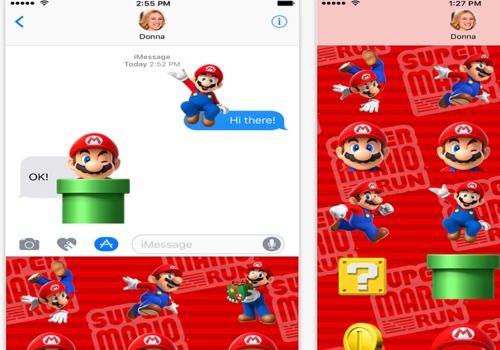 Download Super Mario Run Stickers iOS for Windows   App Store