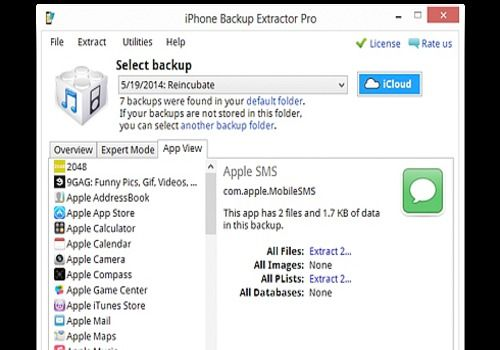 Download iPhone Backup Extractor 7 6 1 2186 for Windows