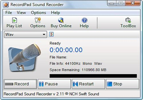 RecordPad Sound Recorder