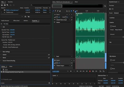 Adobe Audition CC 2018