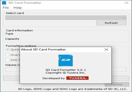 SD Formatter pour Mac