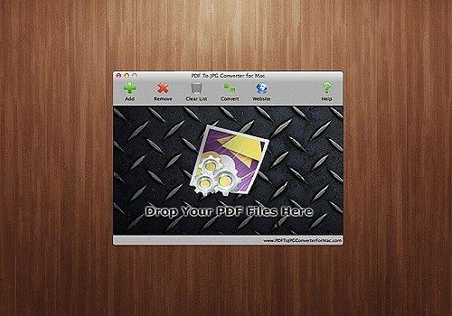 PDF To JPG Converter For Mac
