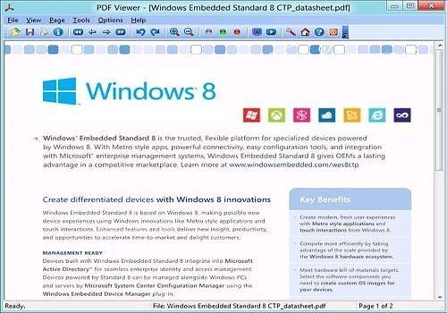 PDF Viewer for Windows 8