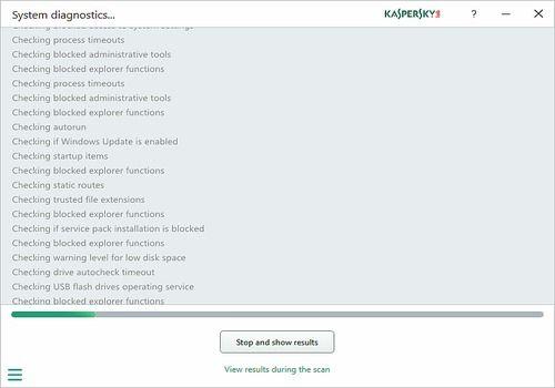 Kaspersky System Checker