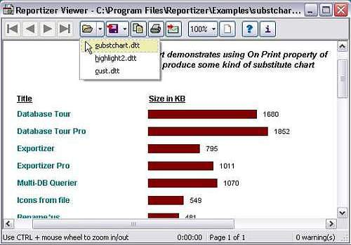 Reportizer Viewer
