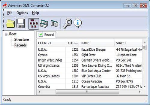 Advanced XML Converter