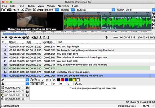 Download Subtitle Workshop Mac | Freeware
