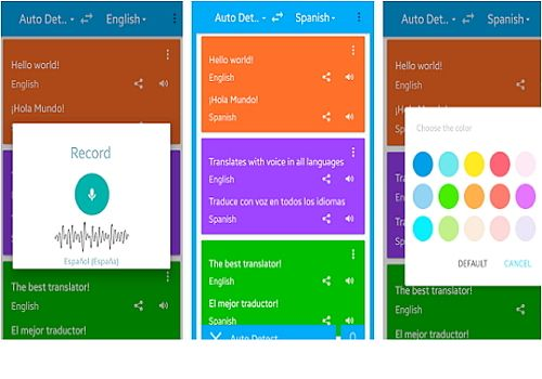 Traduction Vocale Android