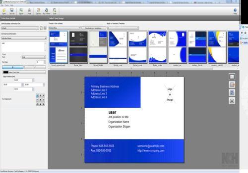 Downloaden Cardworks Business Card Software 1 15 Für Windows