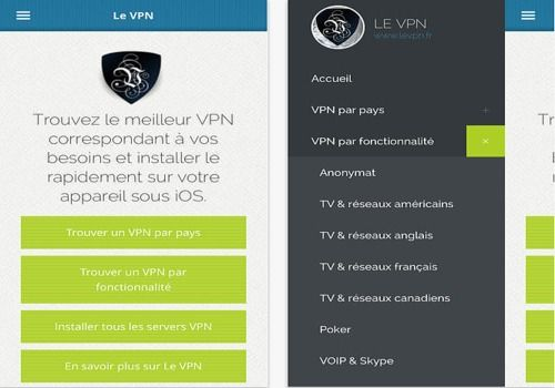Le VPN iOS