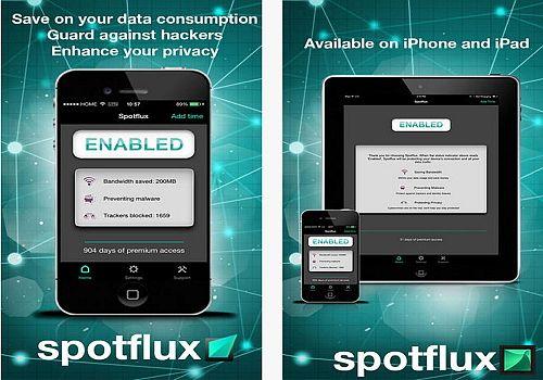 Spotflux iOS