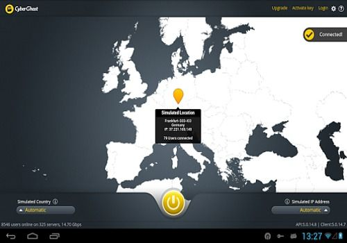 download cyberghost vpn for android