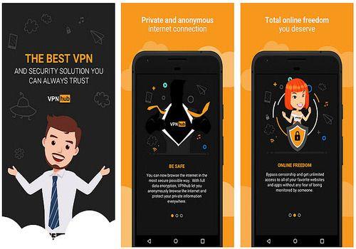 VPNHub Android