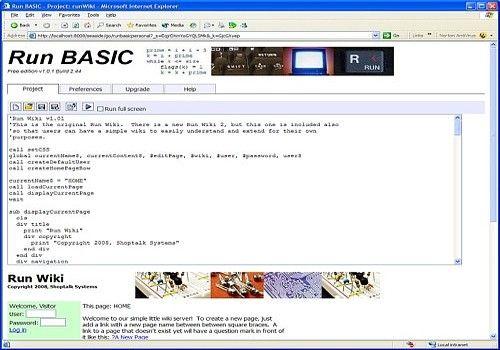 Download Run BASIC Free Edition for Windows | Freeware