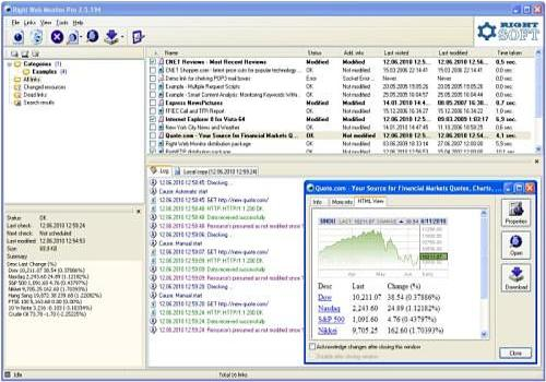 Download Right Web Monitor Pro for Windows | Shareware