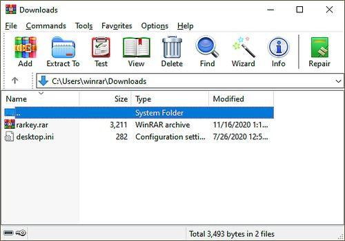 telecharger winrar gratuit windows 10 64 bits