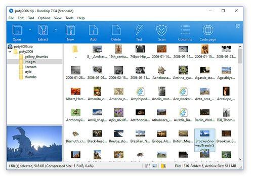 Download Bandizip 6 18 for Windows | Freeware