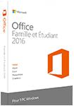 Office 2016 Famille et Étudiant - PC